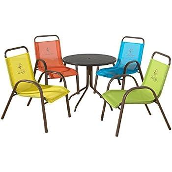 Panama Jack Kids 5 Piece Outdoor Dining Set, Multicolored