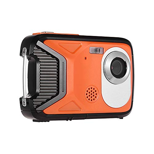 Andoer Waterproof Digital Camera 1080P Full HD 8 Mega Pixels 8X Zoom with 2.8 Inch LCD Display Anti-Shake Face Detect and Rechargeable Lithium Battery