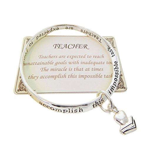 Rosemarie Collections Bracelet pour femme Bracelet humoristique Teacher Cadeau