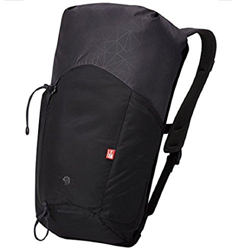 Mountain Hardwear Unisex Scrambler Roll Top 20L Outdry Backpack, Black, One - Mountain Hardwear Black Backpack