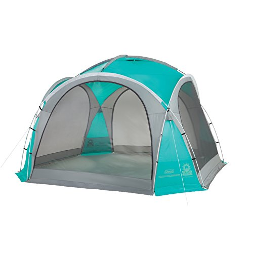 Coleman Event Dome Party Tent XL 4,5 x 4,5 grey/turquoise 2016 reception tent