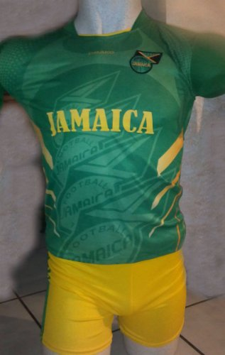 CHILDRENS,BOYS, GIRLS, KIDS, UNISEX JAMAICA SOCCER KIDS SETS JERSEY & SHORT SIZE TODDLER 3T SMALL FOR ages 2 TO 3 YEARS OLD