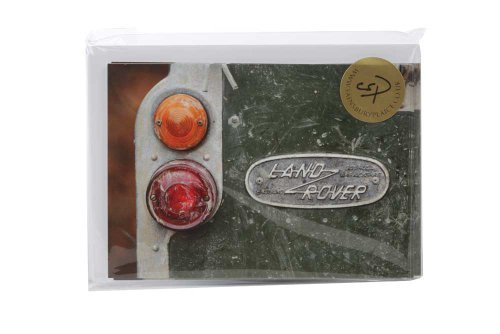 10 Land Rover Charles Sainsbury-Schollen. Ideal für Dankeskarten oder als Geschenk zu 4 x 4 Fans.