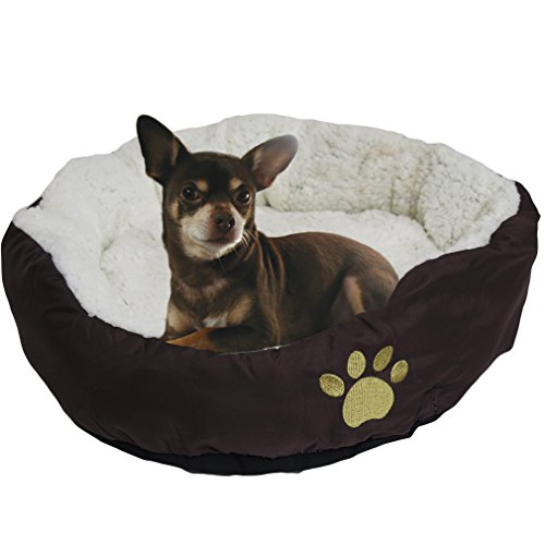Soft Dog Bed (Brown) - 8