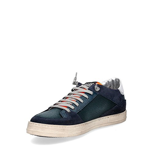 Couleur Made de Baskets Homme Cuir Gris Mode P448 Italy Printemps Orange Collection Sneaker Été E8QUEENS Chaussures In qgC040