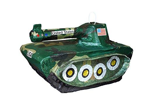 Army Tank Pinata by Aztec Imports Pinatas