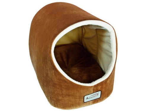 - Armarkat Cat Bed, 18-Inch Long, Brown