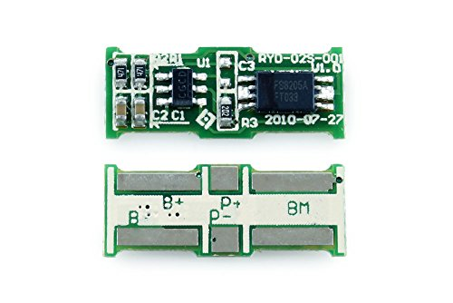 Tenergy Protection Circuit Module (PCB) for 2S 7.4V Li-ion Battery Pack w/ 5.5A Cut-off ()