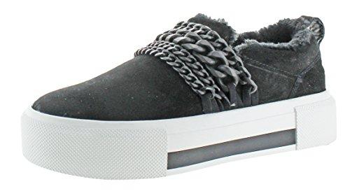 Kendall + Kylie Dames Tory Sneaker Zwart Suède