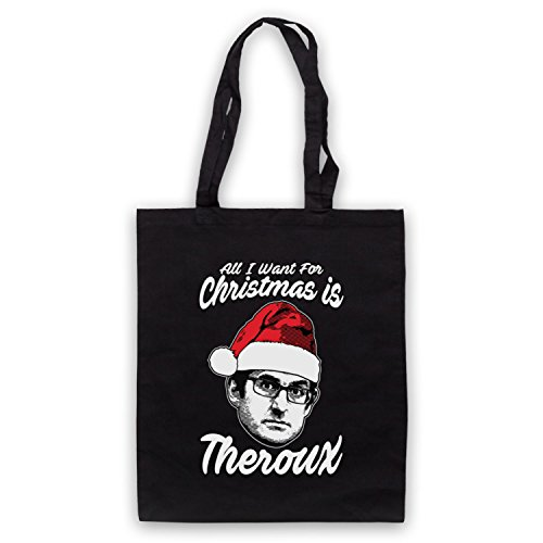 Louis Theroux All I Want For Christmas Is Theroux Bolso Negro