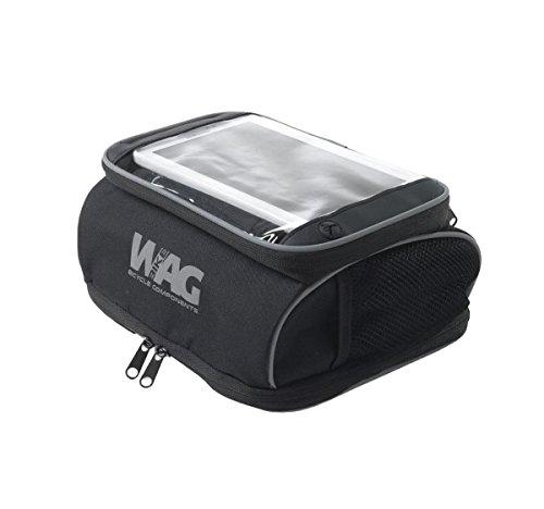 Wag Tasche vorne Tür Tablet mit Lenkerbefestigung Klettverschluss (Taschen Reise)/Handlebar Bag for Tablet Device With Klettverschluss Gurt Mounting (Travel Bag)