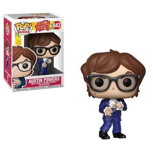 Funko Pop Movies: Austin Powers - Austin Powers Collectible Figure, Multicolor -