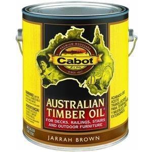 Timber Cabot Australian Oil (Cabot Stains 3460 Australian Timber Oil Oxide, 1 gallon)