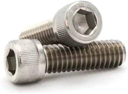 100, 1-72 x 1//4 316 Stainless Steel Socket Cap Screws #1-72