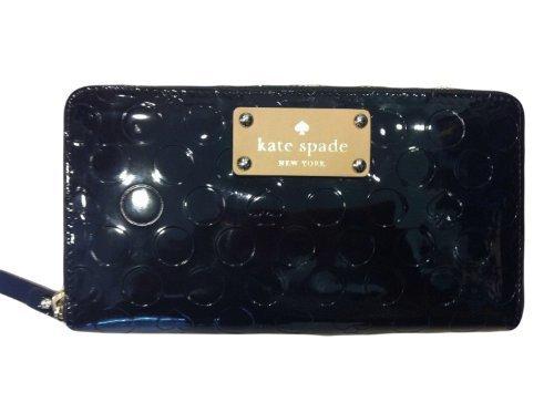 Kate Spade Neda Wallet Yaletown Black Patent Polyvinyl ()