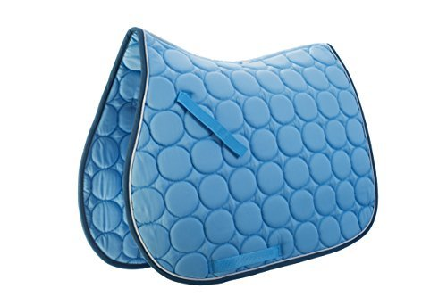 Roma Circle Quilt Pads FULL Blue/White/Denim