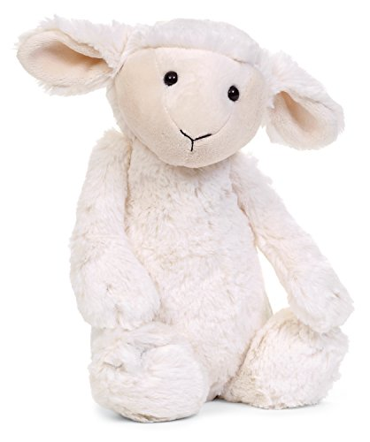 Jellycat Bashful Lamb, Medium - 12 inches