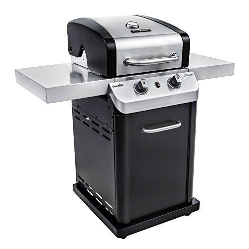 350 2-Burner Cabinet Liquid Propane Gas Grill (2 Burner Natural Gas Grill)