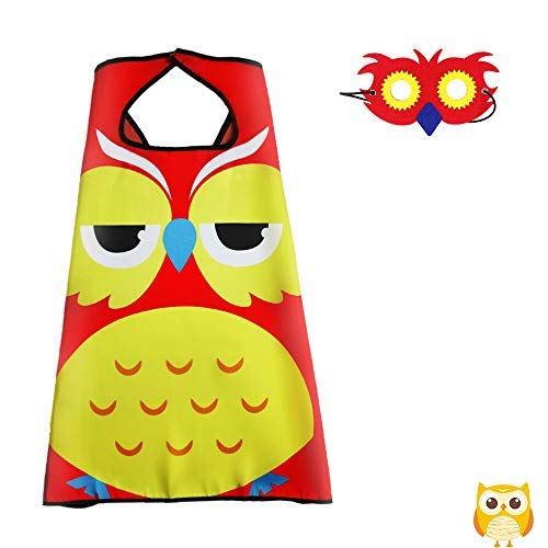 Flying Childhood Kids Toddlers Bird Costume Owl Cape