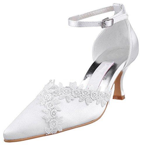 Fashion Chaussures tendance Ivoire femme Kevin mariage de z8SdHq