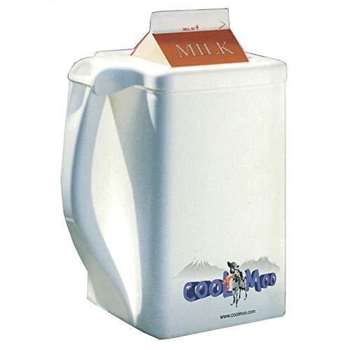COOLMOO Insulated Carton Chiller for Milk Dairy Creamer Beverages 1 Quart 1 Quart Milk Carton
