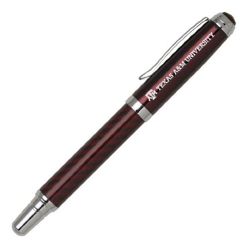 LXG Inc. Texas A&M University Tintenroller, Kohlefaser, Burgunderrot