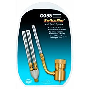 Goss GHT-K12 Torch Kit with GHT-100 and GHT-T2 Twin Tip