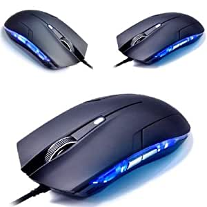 Weksi® LED Optical USB Wired Gaming Game Mouse Mice w/ 6 Button for Pro Gamer