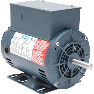 Leeson Air Compressor Electric Motor - 2 HP, Model# 116512