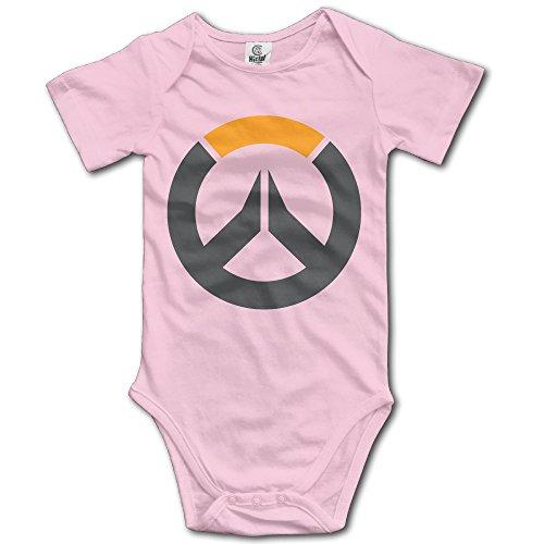 Price comparison product image Newborn Boy Girls Infant Overwatch Logo Jumpsuit Bodysuit Clothes