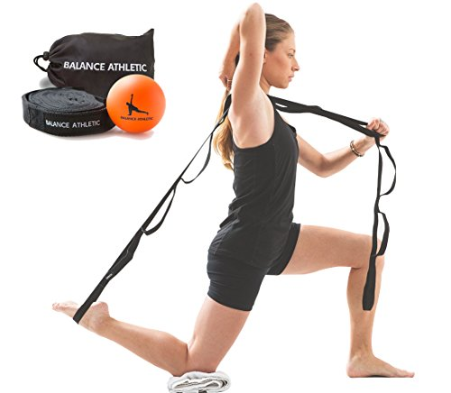 stretch-out-strap-and-myofascial-release-ball-balance-athletic-home-physical-therapy-kit-with-instru
