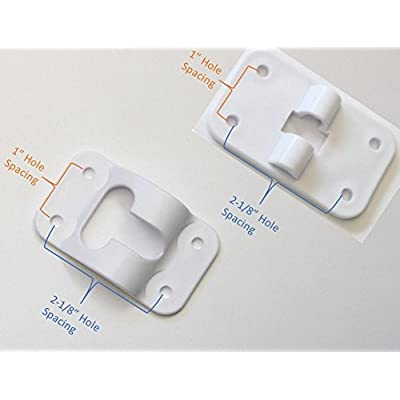 Hamilton Bowes 2 Pack: RV T-Style Door Holder Catch 3-1/2