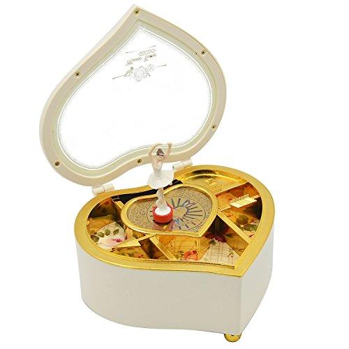 Gosear Baila Bailarina Caja de Música Caja mecánica Joyas Musicales Niñas Niños Navidad Cumpleaños Regalo Caja de...
