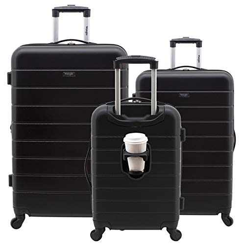 3-piece smart luggage set