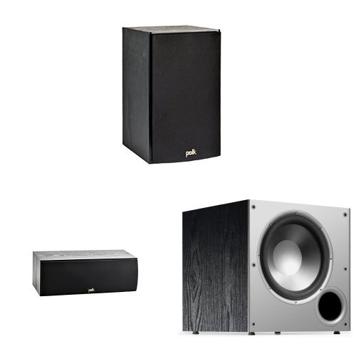 Polk T-Series 3.1 Bundle with 3 Speakers and 1 Subwoofer