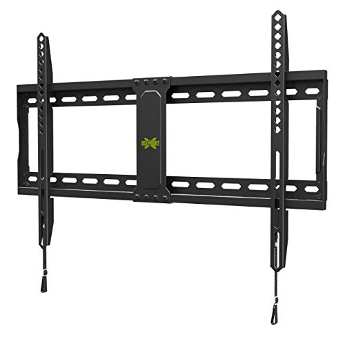 st 37-70 Inch LED, LCD and Flat Screen TVs, TV Mount with VESA Up to 600x400mm and Weight Capacity 132lbs, Low Profile, Fixed and Space Saving TV Bracket by USX Mount ()