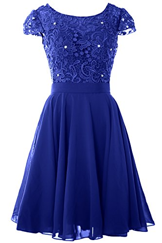 Blue Bride Cap MACloth Short Party Women Dress Mother Sleeve the Royal Gown Formal Lace of Bw6gqST