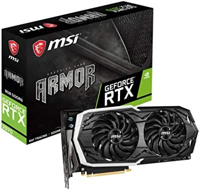 MSI GeForce RTX 2070 ARMOR 8G, Black