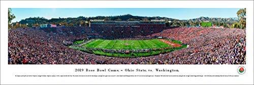 2019 Rose Bowl Game - Ohio State vs Washington - Unframed Poster by Blakeway Panoramas