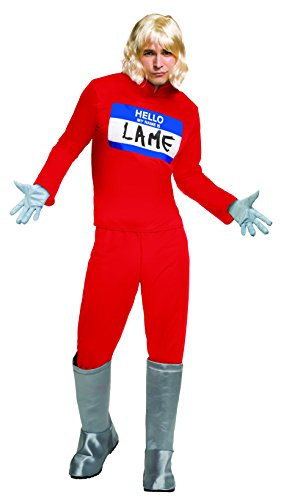 Funny Male Costume 2016 (Rubie's Men's Zoolander 2 Hansel's Hello My Name Is Costume, Multi, Standard)