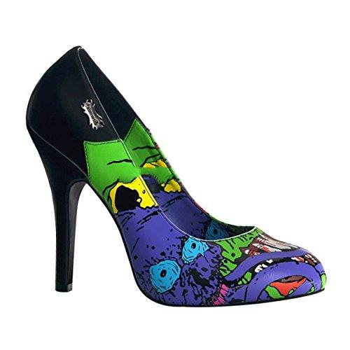 Zombie 03 chaussures 43 gothique femmes Demonia 36 escarpins punk 1AawCq