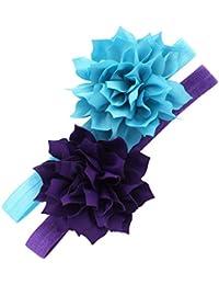 Petal Flower Headbands Baby - Girls - Toddler Stretchy...