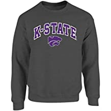 NCAA Men's Crewneck Sweatshirt Dark Heather Arch