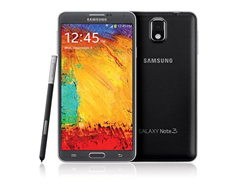 Samsung Galaxy Note 3 N900A 32GB Black (AT&T + GSM Unlocked) (Renewed)