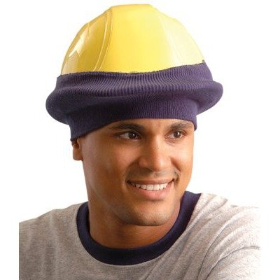 Occunomix Knitted Tube Hard Hat Cap - Hi-Viz Orange