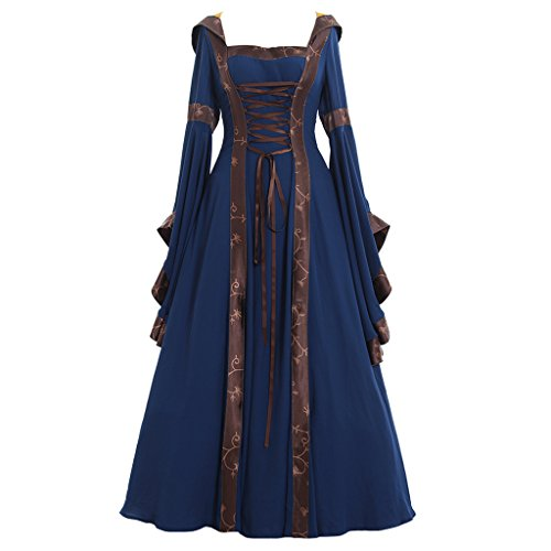 CosplayDiy Women's Deluxe Victorian Dress Costume -