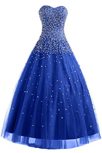 Ange Tulle Robe De Soirée Robe De Bal Mariée Robes De Soirée Robe De Bal Quinceanera Bleu Royal