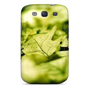 Galaxy S3 Case Cover Deciduous Close Up Case - Eco-friendly Packaging