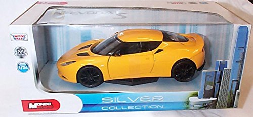 mondo motors evora S yellow car special collection 1.24 scale diecast model by Mondo ()