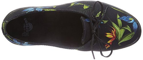 Dr. Martens Mujeres Morada Cushion Casual Sneakers Black